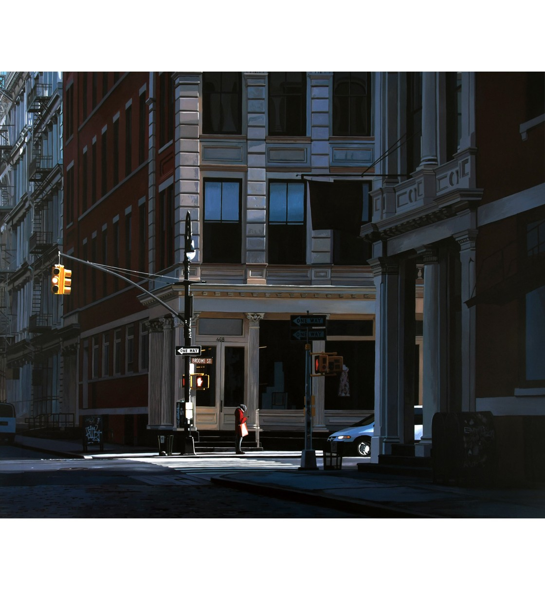 """Early Morning Light/Broome St."" Giclée Print"