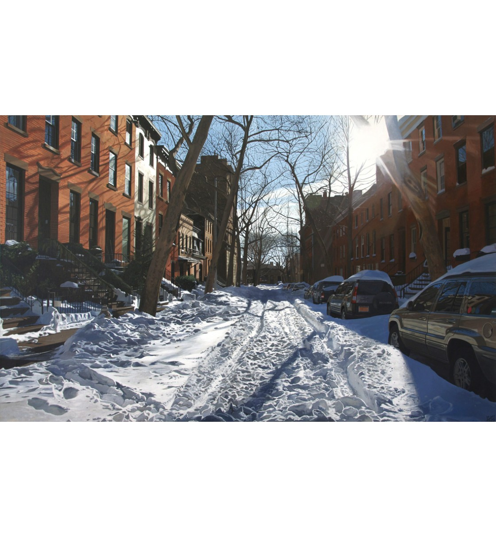 """Brooklyn Heights"" Giclée Print"