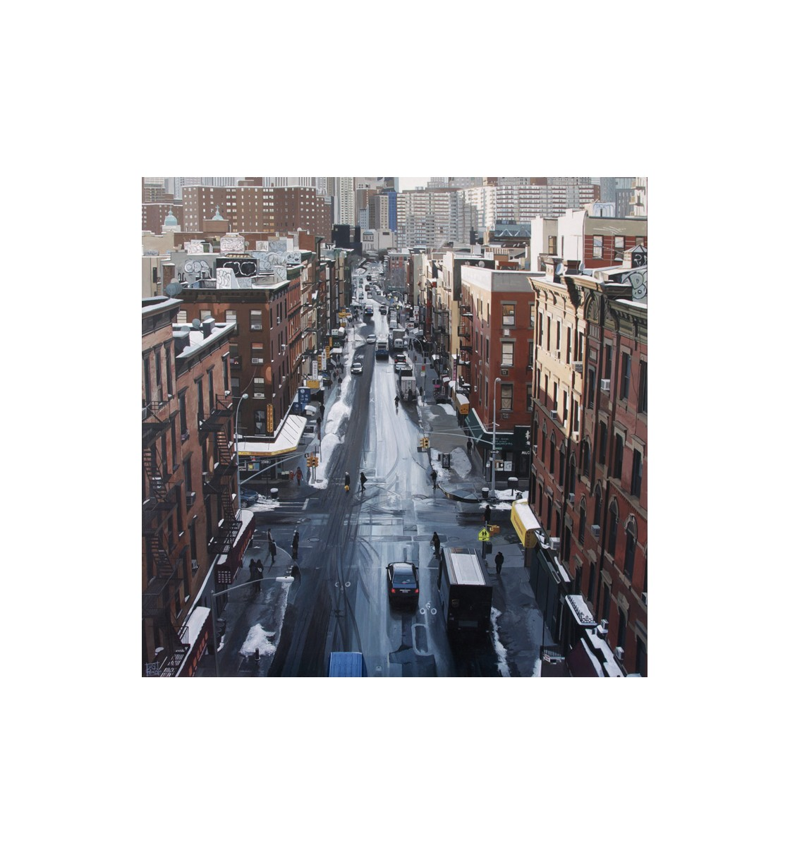 """Madison St/NYC"" Lámina Glicée"