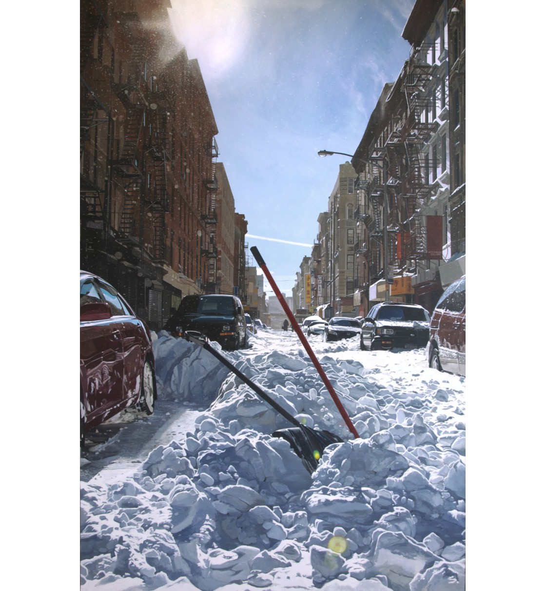"""Lower East Side/NYC"" Lámina Giclée"
