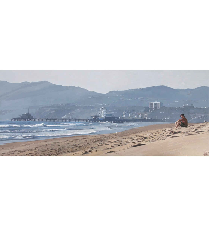 """Venice Beach, L.A."" Lámina Giclée"