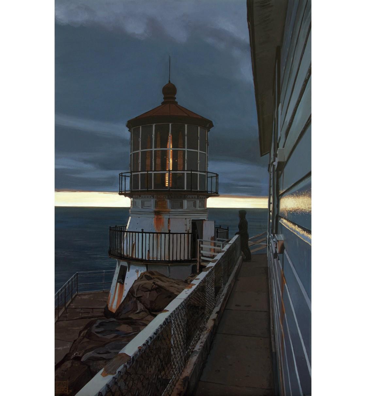 """""""Point Reyes Lighthouse"""" Lámina Giclée"""