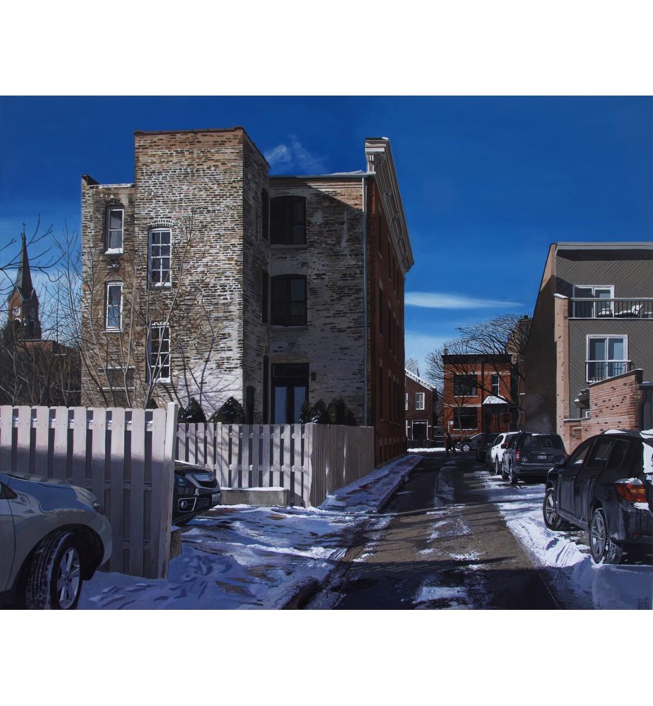 """Back Street/Chicago"" Glicée Print"