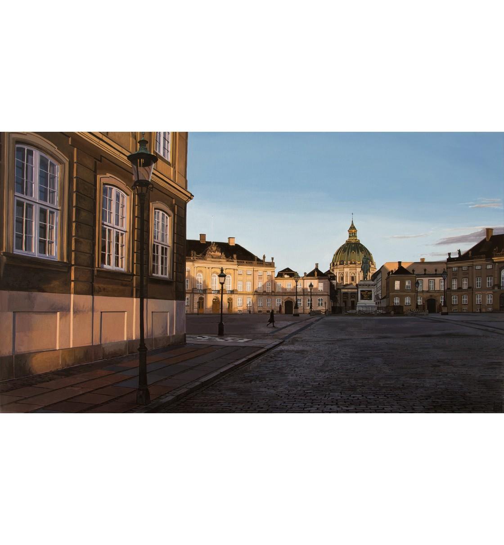 "Amalienborg/Copenhaguen"" Giclée Print"