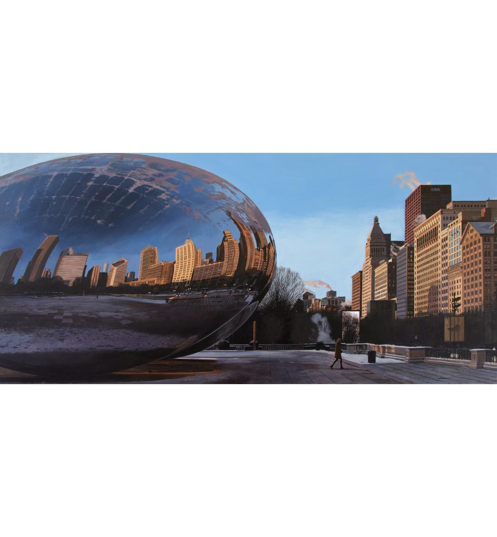 """Millennium Park/Chicago"" Lámina Giclée"