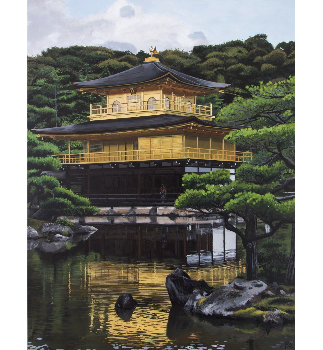 """The Golden Pavillion/Kyoto"" Glicée Print"
