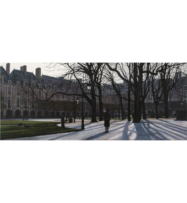 """""""Place des Vosges"""" Giclée Print"""
